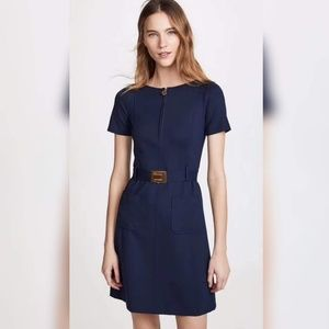 nwt Tory Burch Short Sleeve Fit-and-Flare Dress